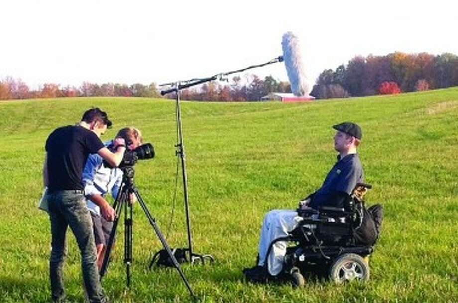 ON THE BIG SCREEN: Andy Phelps' journey now is the focus of a documentary directed by Caleb Slain. (Courtesy photo)