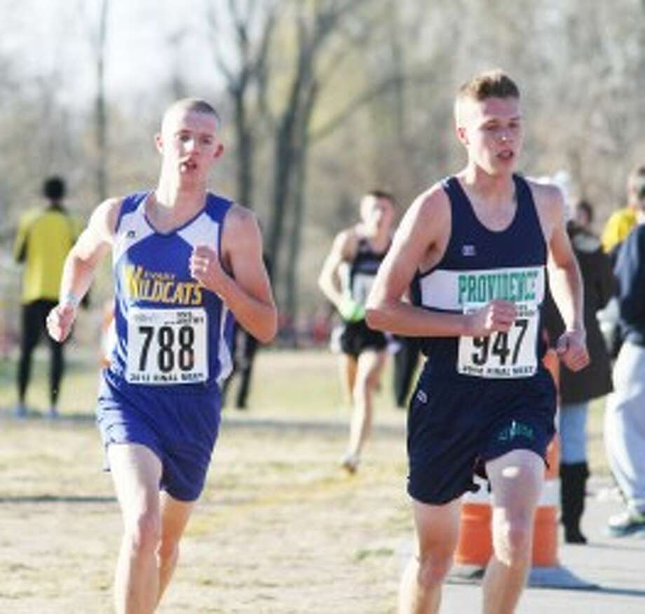 FINAL RUN: Evart's David Zinger wrapped up his cross country career with a second place finish at the state final. (Pioneer file photo)