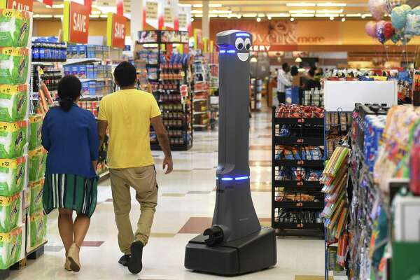 Robots Roaming The Aisles Of Stamford Stop Shop Stores
