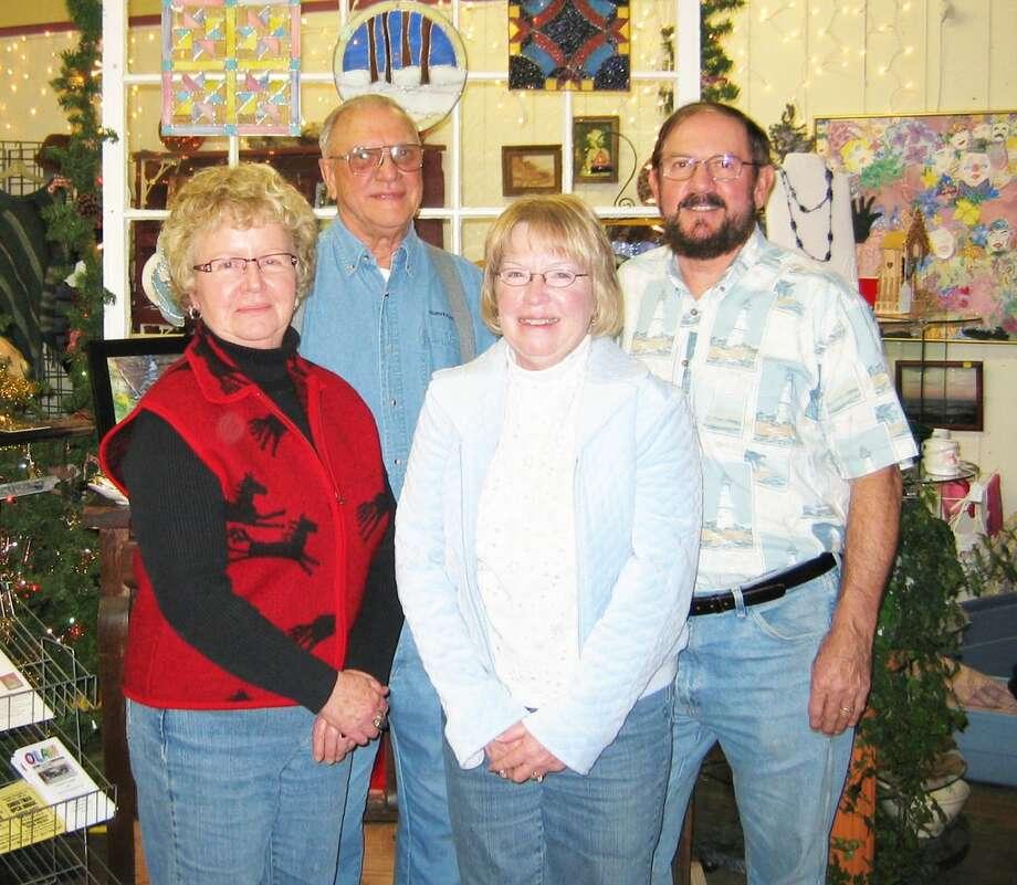 ELECTED: OLAH officers for 2013: Jim Pylman, president (rear left), Joe Tolgo, vice president, Mary Brininstool, treasurer (front left), Renee Tolgo, secretary.