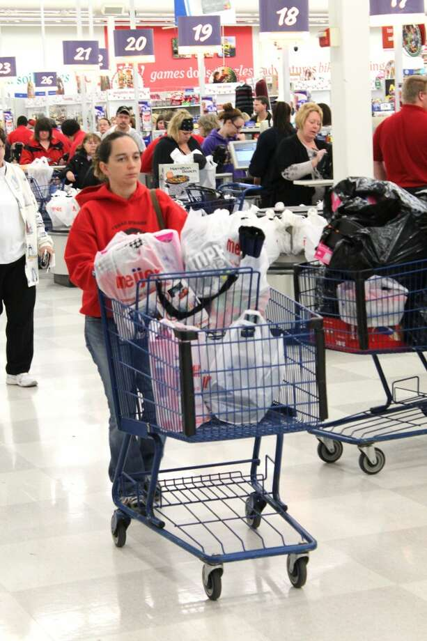 SPENDING: Spending in retail outlets tradionally goes up durng the winter holiday season