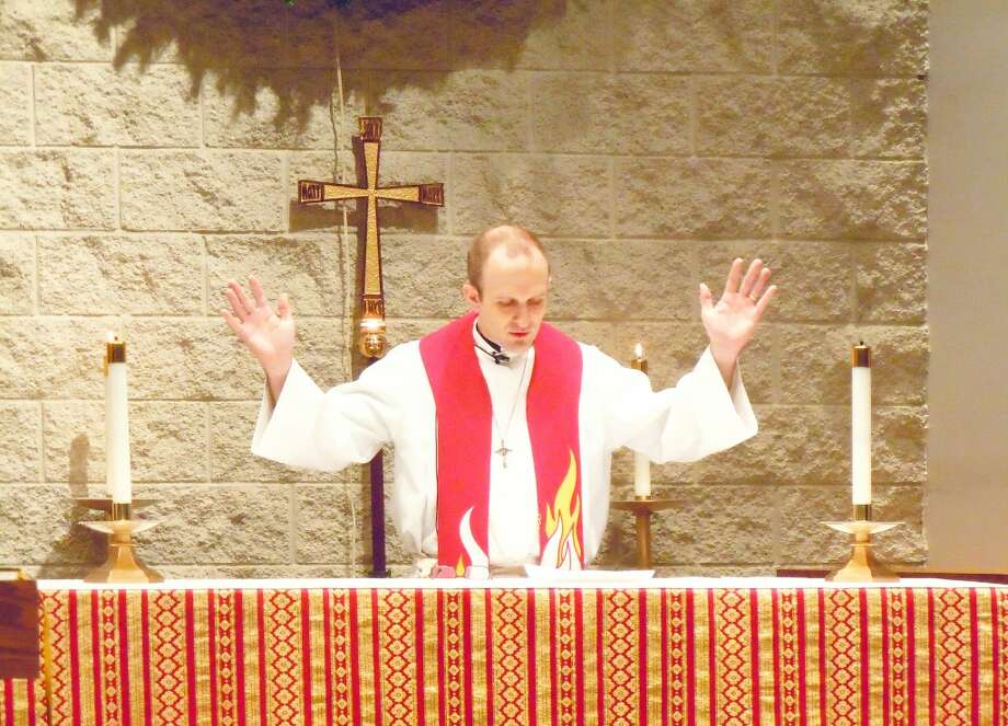 ANSWERING THE CALL: Jason Toman recently was ordained as a minister of the Lutheran Church Missouri Synad. Toman grew up in Reed City and now lives in Portage. (Courtesey photos)