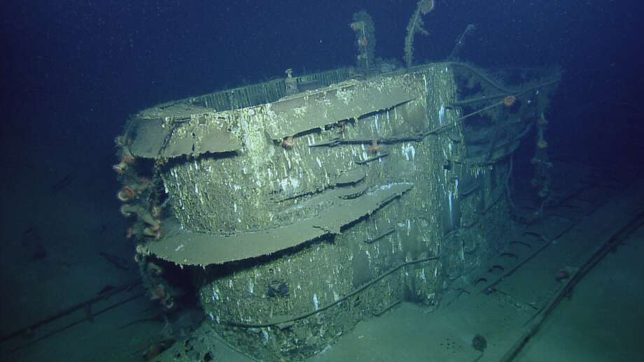 The U-166, which sits nearly a mile below the Gulf of Mexico, just off the Texas coast, was sunk by Allied forces during WWII.