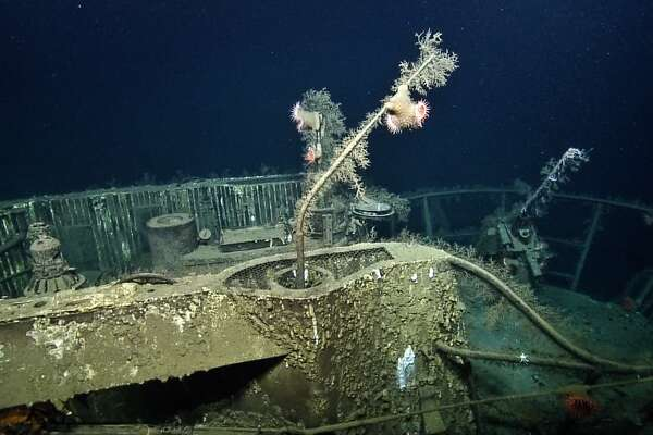 The U-166, which sits nearly a mile below the Gulf of Mexico, just off the Texas coast, was sunk by Allied forces during WWII. It was discovered decades later.
