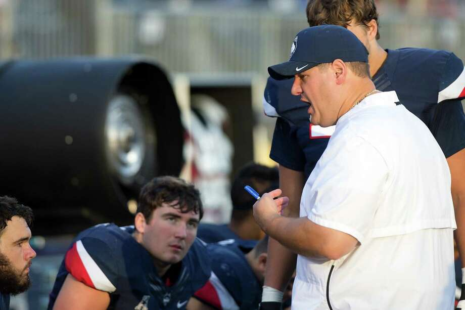 UConn offensive coordinator Frank Giufre won't be afraid to take risks. Photo: UConn Athletics / Contributed Photo