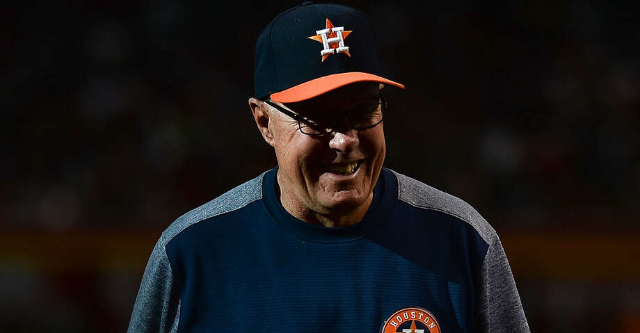 PHOTOS: Astros game-by-game Brent Strom #56 of the Houston Astros smiles during the MLB game against the Arizona Diamondbacks at Chase Field on May 5, 2018 in Phoenix, Arizona. The Arizona Diamondbacks won 4-3.  (Photo by Jennifer Stewart/Getty Images) Browse through the photos to see how the Astros have fared in each game this season. Photo: Jennifer Stewart/Getty Images / 2018 Jennifer Stewart