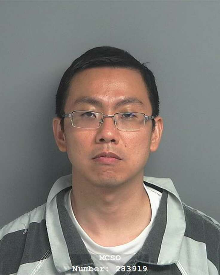 Jay Lin, a 40-year-old Houston radiologist, was arrested last month on a charge of online solicitation of a minor. Photo: Montgomery County Pct. 1 Constable's Office