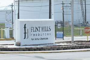 Flint Hills Resources in Port Arthur  Photo taken Wednesday, 1/30/19