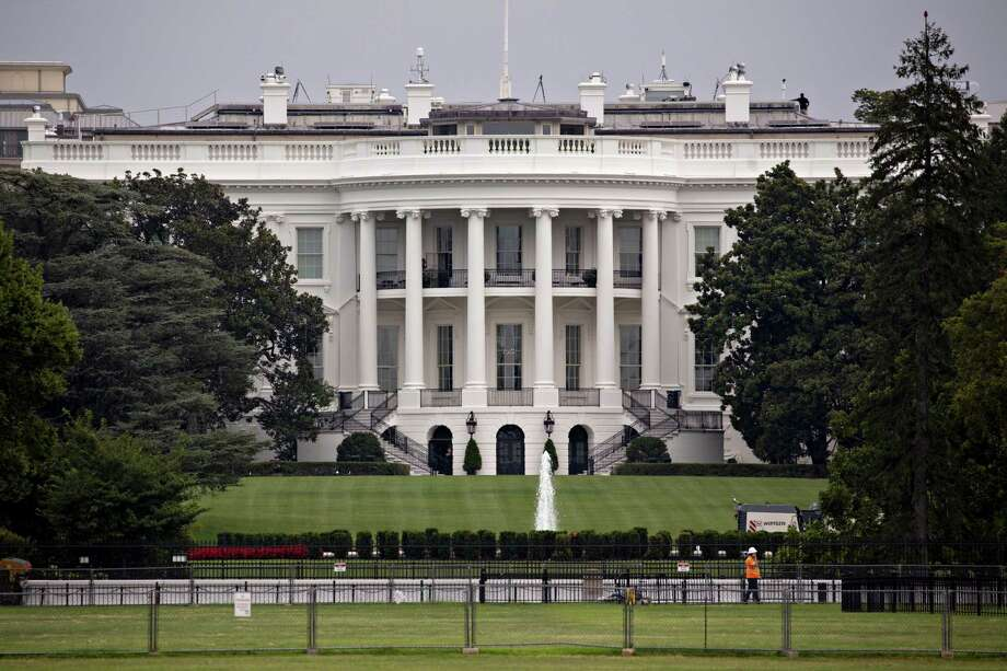 The White House stands in Washington, D.C., U.S., on Tuesday, Aug. 13, 2019. The Trump administration announced today it will delay until mid-December the 10% tariff on some Chinese products on many holiday-shopping lists, with the president acknowledging that the levies would have hurt consumers. Photographer: Andrew Harrer/Bloomberg Photo: Andrew Harrer / Andrew Harrer/Bloomberg / © 2019 Bloomberg Finance LP