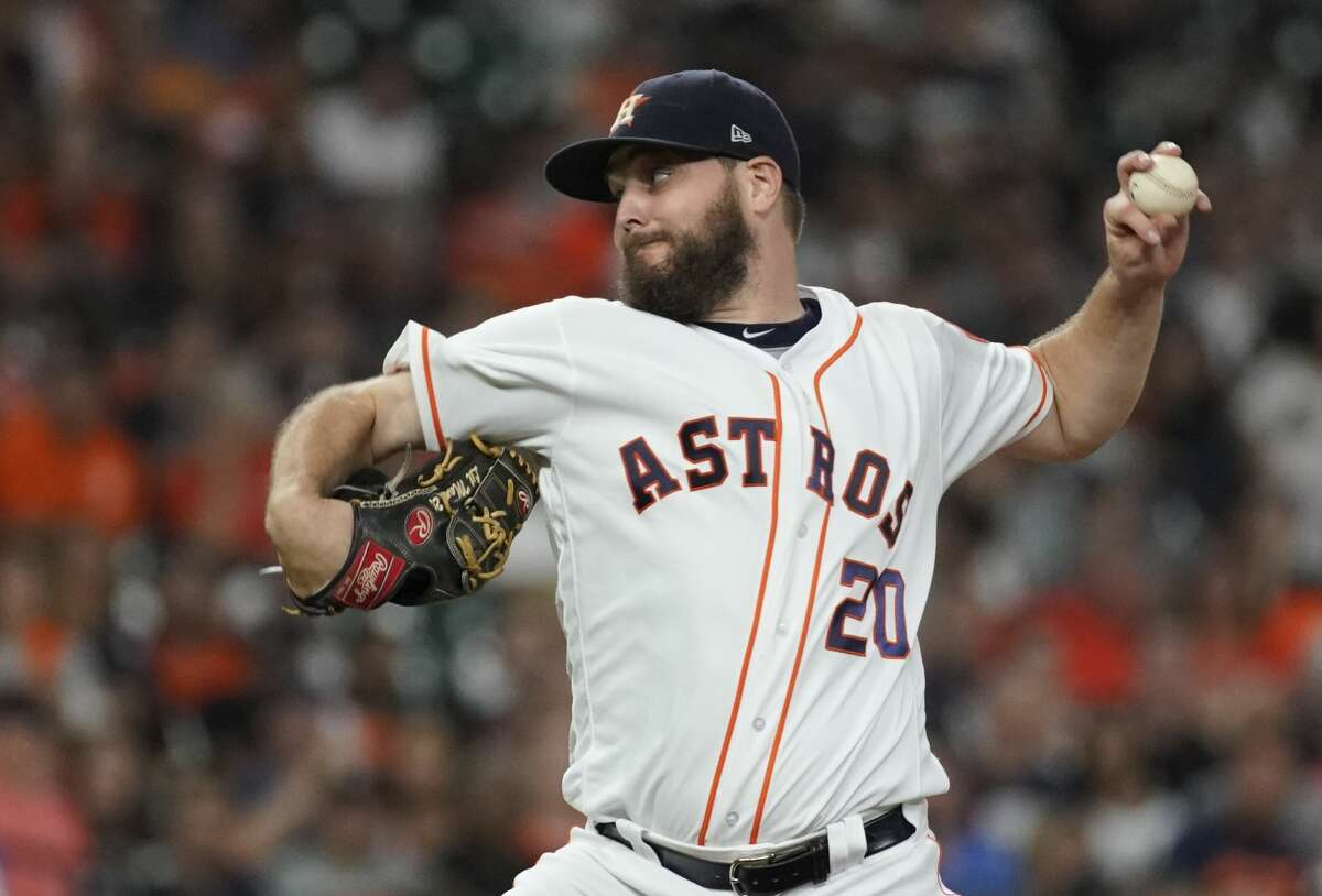 PHOTOS: Astros players' contract situation Houston Astros Wade Miley pitches against the Detroit Tigers during the second inning of MLB game at Minute Maid Park Monday, Aug. 19, 2019, in Houston. >>>A look at the contract situation for each Houston Astros player during the 2019-20 offseason ...