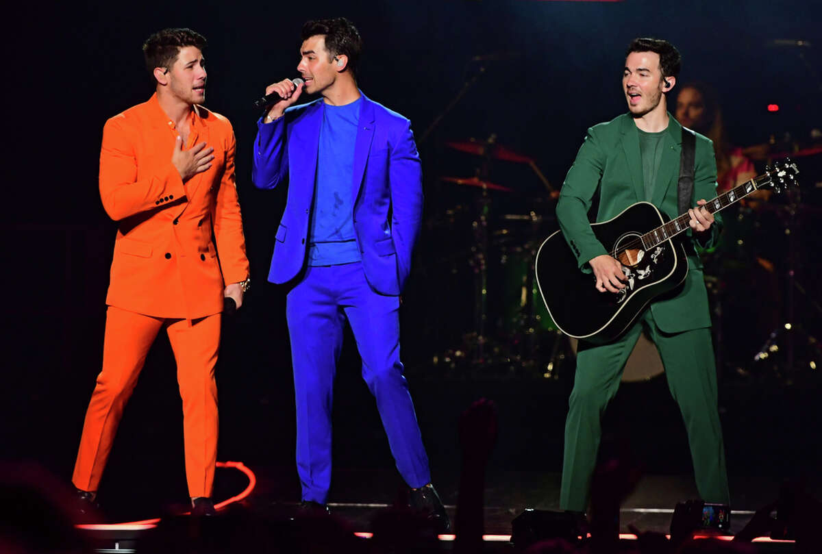 The Jonas Brothers perform in concert at the Times Union Center on Monday, Aug. 19, 2019 in Albany, N.Y. (Lori Van Buren/Times Union)