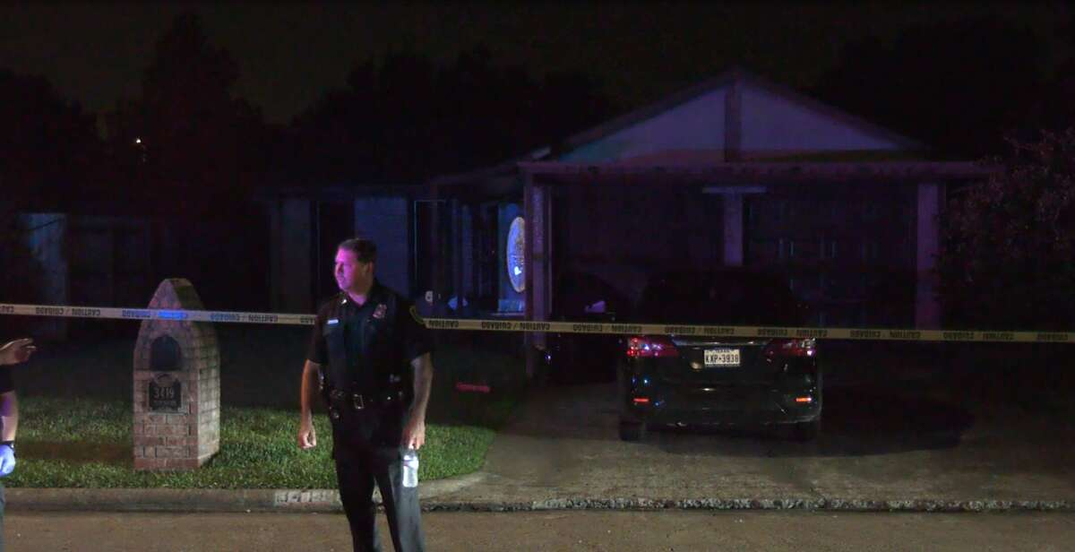 """Houston Police Lt. Larry Crowson said the resident suffered a gunshot wound to the leg after """"three to four males"""" forced their way into his home at the 3400 block of Tidewater shortly after 8 p.m."""