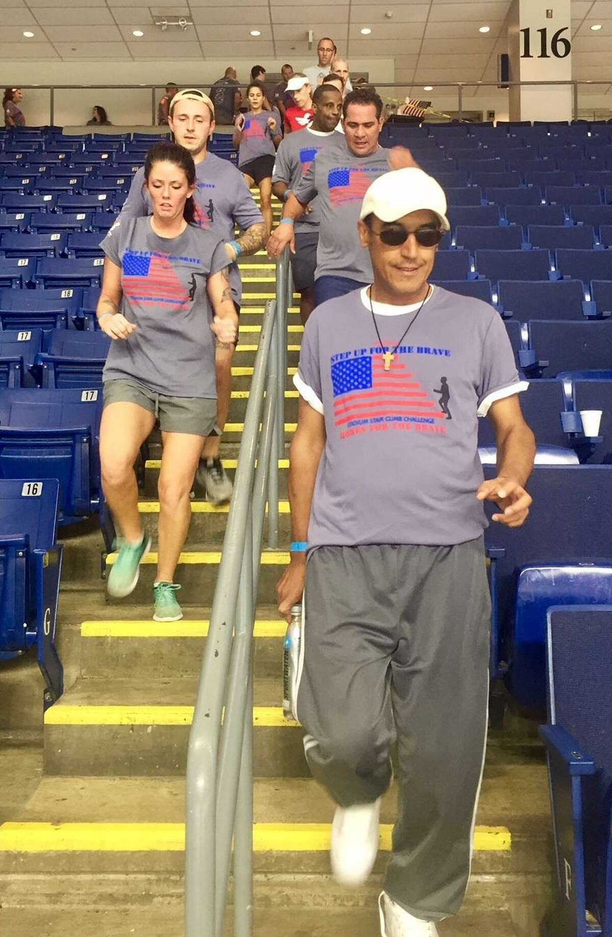 Registration is now open for the 5th Annual Step Up For The Brave Stair Climb Challenge. This unique event, hosted by Homes for the Brave, takes place Saturday, Sept. 14, 2019 at Webster Bank Arena. www.HomesForTheBrave.org