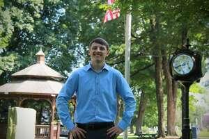 Incoming Shelton High School senior Matt McGee, a Democrat, is running for Board of Aldermen in the third ward.