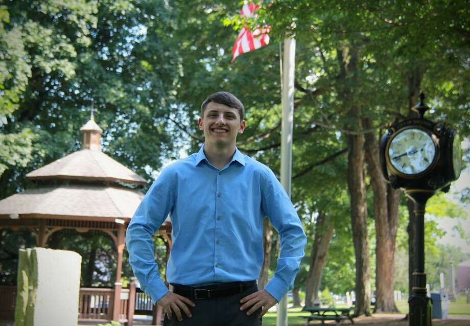 Incoming Shelton High School senior Matt McGee, a Democrat, is running for Board of Aldermen in the third ward. Photo: Contributed Photo / Connecticut Post