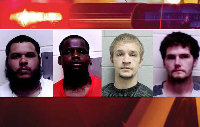 Alton man, 3 others charged in 3-county home invasion spree