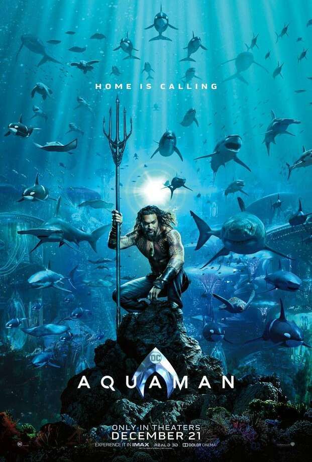 Aquaman will be featured movie Aug. 22 Photo: Contributed Photo