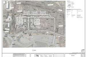 The Rapp Road site plan via townofguilderland.org.