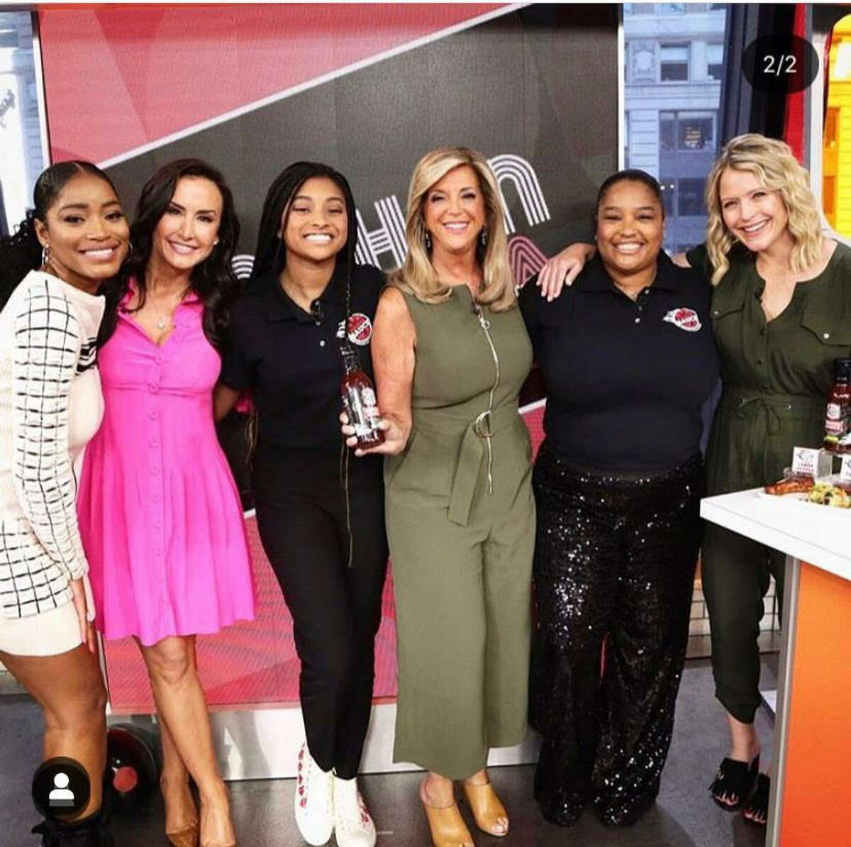 """Tyla-Simone Crayton was crowned the grand prize winner of the """"Side Hustle Showdown"""" on the Good Morning America Show Strahan and Sara Aug. 16."""