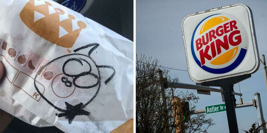Five Burger King employees were fired for drawing a cartoon