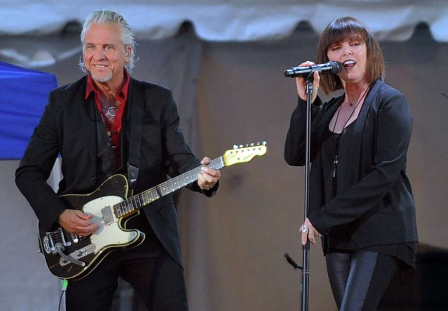 Pat Benatar & Neil Giraldo will perform on Aug. 27 at 8 p.m. at the Levitt Pavilion for the Performing Arts, 40 Jesup Road, Westport. Tickets are $85-$105. For more information, visit levittpavilion.com. Photo: Matthew Brown / Hearst Connecticut Media / Stamford Advocate