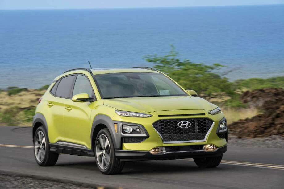 Introduced last year, the Kona has enjoyed strong U.S. sales — 47,090 in 2018, and well ahead of that pace this year. Photo: David Dewhurst Photography /Hyundai Media / Contributed Photo / Dewhurst Photography