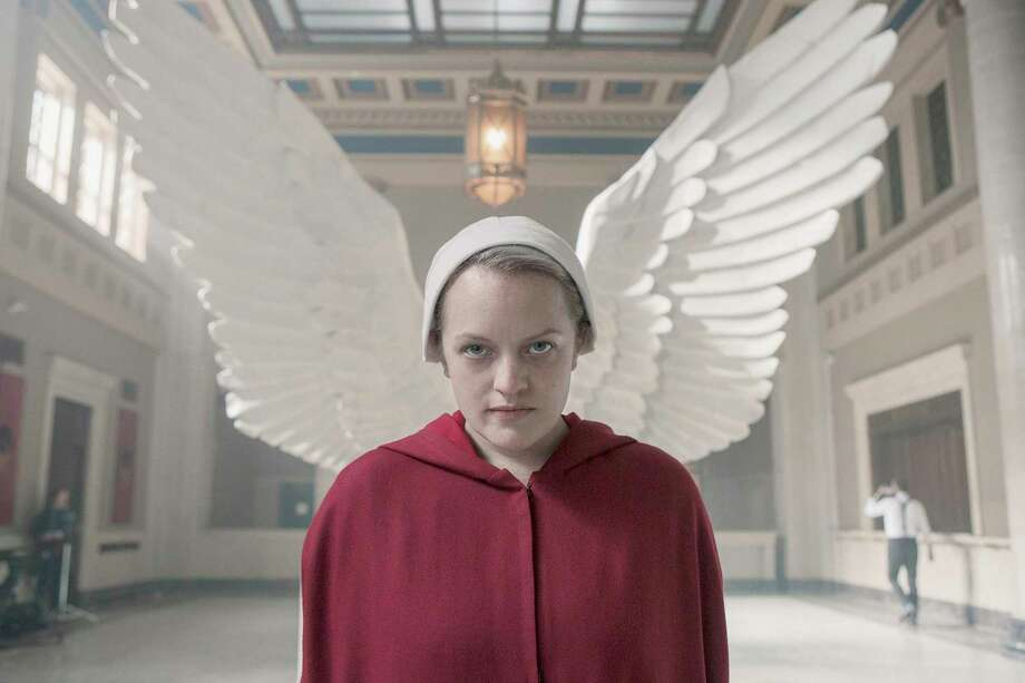 "Elisabeth Moss stars as June in ""The Handmaid's Tale."" Photo: Hulu / Contributed Photo / Hulu / 2019 Hulu"