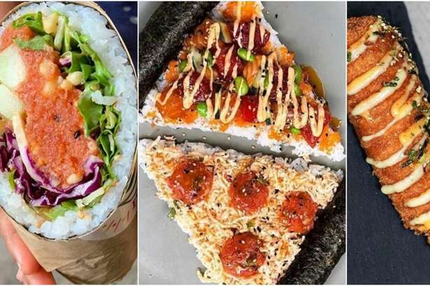 "Atlanta-based Poke Burri offers classic and customizable poke bowls as well as poke and sushi burritos. The chain's ""secret menu"" consists of whimsical-shaped items you wouldn't normally find at a sushi restaurant, such as pizza, corn dogs and even doughnuts."