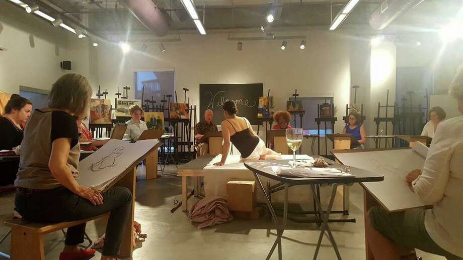 "An evening that pairs the experience of drawing from a live model with wine and refreshments will take place in a ""Sip and Sketch"" series event on Sept. 13 at Western Connecticut State University in Danbury. Photo: WCSU / Contributed Photo"