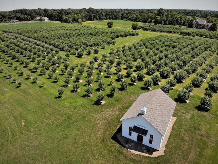 Liberty Apple Orchard, located just east of Edwardsville.