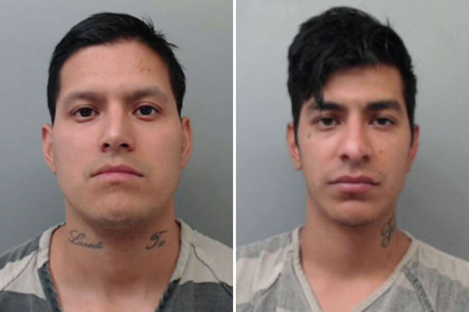 Two brothers plead guilty in connection to two aggravated maquinita robberies before the 111th District Court on Monday. Photo: Courtesy