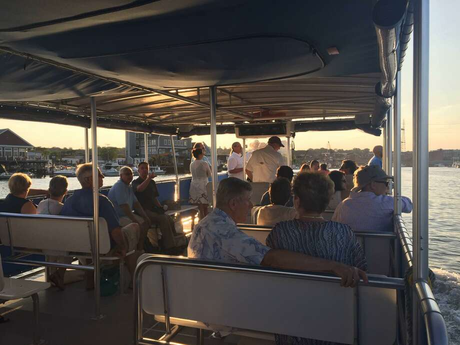 The Seaport Association of Norwalk has long offered Friday evening cruises, and, new this year, they are also offering sunset cruises on Saturday nights. Friday night cruise dates are Aug. 23 and 30, and Sept. 13 and 20. The Saturday night cruises are Aug. 31, and Sept. 14, 21, and 28. Photo: Seaport Association Of Norwalk / Contributed Photo