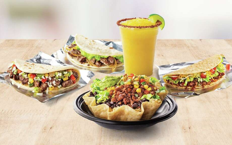 "The San Antonio-based chain announced Beyond Meat tacos and bowls for $2.39 and $5.99, respectively, on Tuesday. Taco Cabana called the additions a ""plant-based twist on the chain's signature menu, giving guests delicious and convenient vegetarian options to fall in love with."" Photo: Courtesy, Taco Cabana"