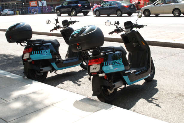 The Revel mopeds, manufactured in China, can go from 0 to 29 mph in about 15 seconds.