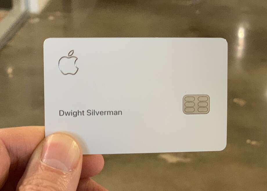 The Apple Card is primarily designed to used with Apple Pay, the contactless payment system in the iPhone and Apple Watch.  Photo: Dwight Silverman / Houston Chronicle