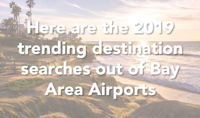 Click through the slideshow to see where Bay Area residents are heading for vacation.