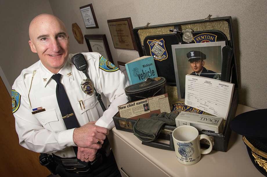 Midland Police Chief Clifford Block Photo: Photo Provided/Justin Engel
