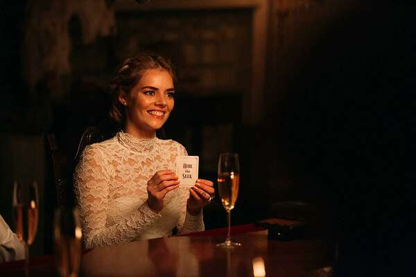"Samara Weaving in ""Ready or Not."" (Fox Searchlight/TNS)"