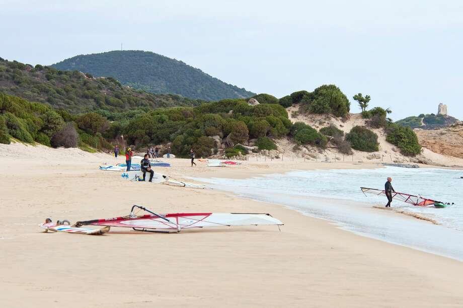 Chia beach, Sardinia, Italy. Photo: REDA&CO/Universal Images Group Via Getty