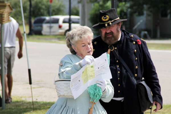 A couple in Civil War-era attire were spotted at ABC Day in Port Hope on Saturday. Each year, the festival helps bring awareness of Port Hope's history.