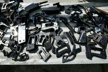 Half of guns in Alameda Co. crimes last year not registered in Calif., study finds