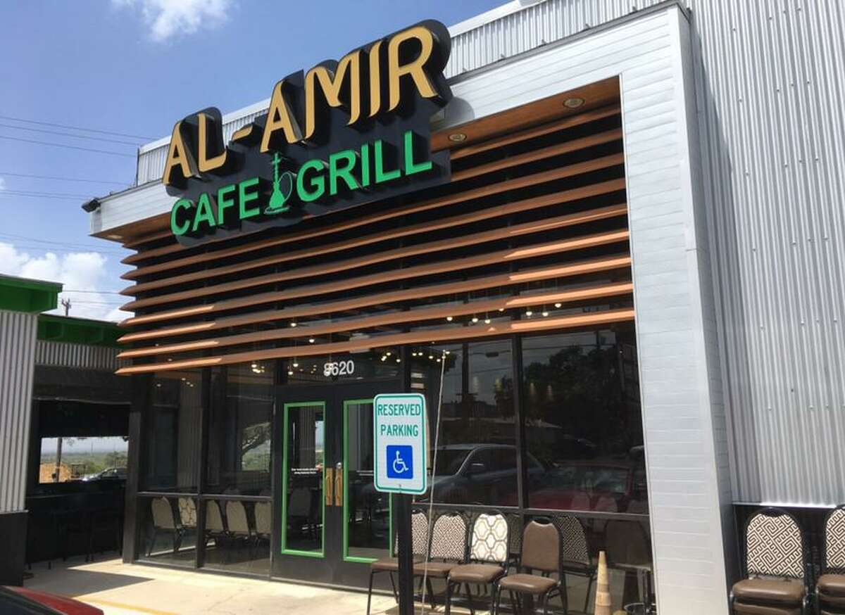 Al-Amir Cafe and Grill is located at 8620 Fredericksburg Road near the South Texas Medical Center.