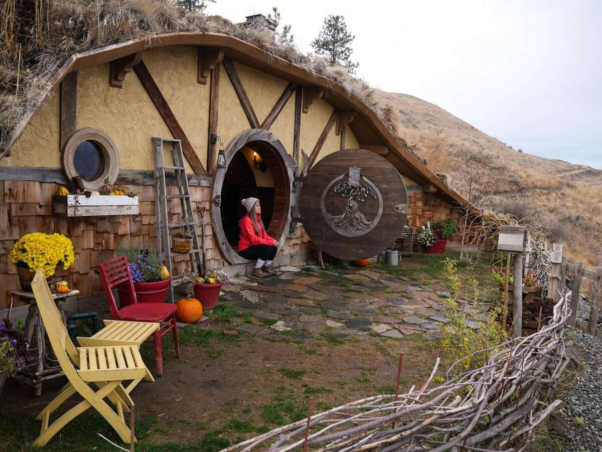 Hobbit Inn, Douglas County: For $400 a night via AirBnB, duck your head under the circular door frame, and sleep within the underground hygge amid the Columbia River Gorge mountainside. Keep clicking for more wacky attractions in Washington.