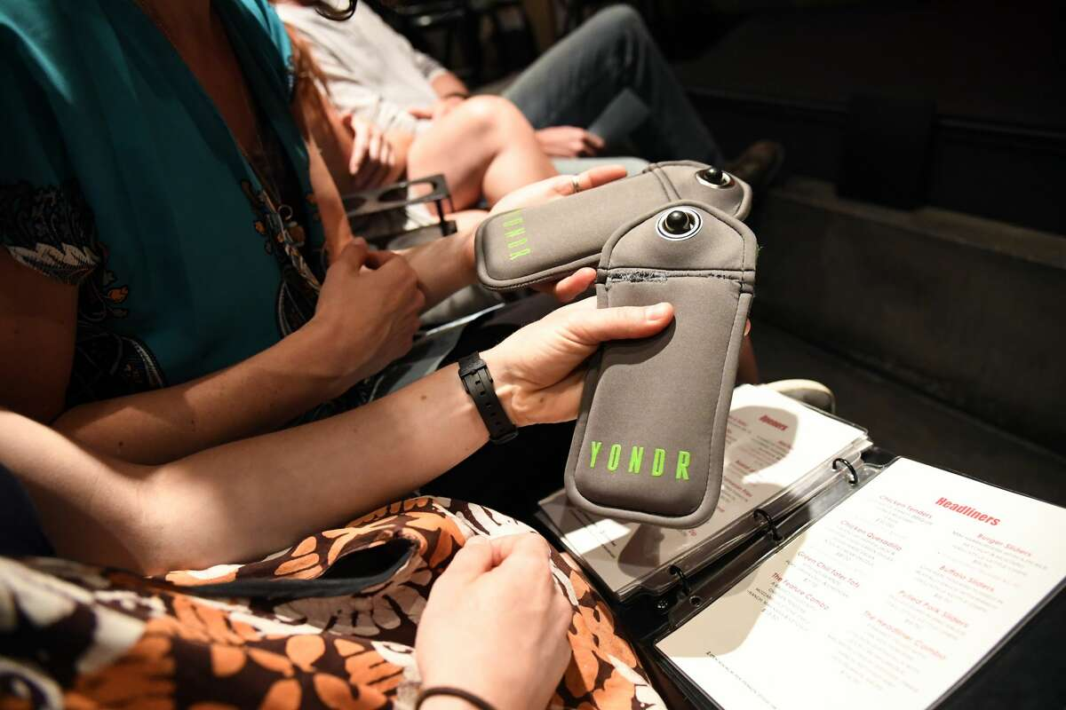 The Yondr pouch allows people to store their cell phones and keep them locked.