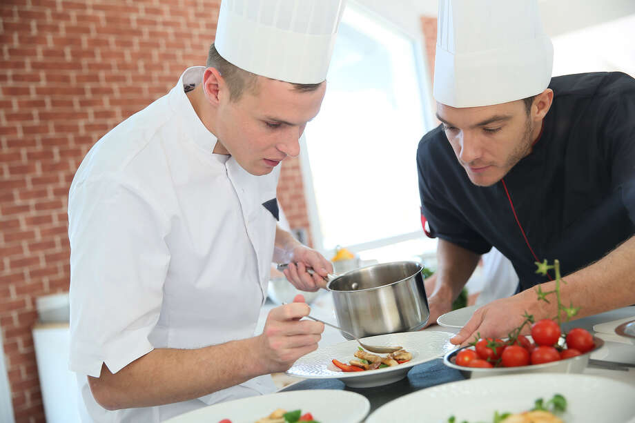 Culinary schools, including LeNotre, cover all fundamentals and techniques such as meat and fish fabrication, knife skills, mother sauces, Masterchef classes in the art of plating, to international cuisine. Baking and pastry covers breads, French baguettes, croissants, macarons, candy making, ice cream making, dessert plating, to wedding cakes, occasion cakes, high-end sugar and chocolate showpiece work. Photo: Shutterstock