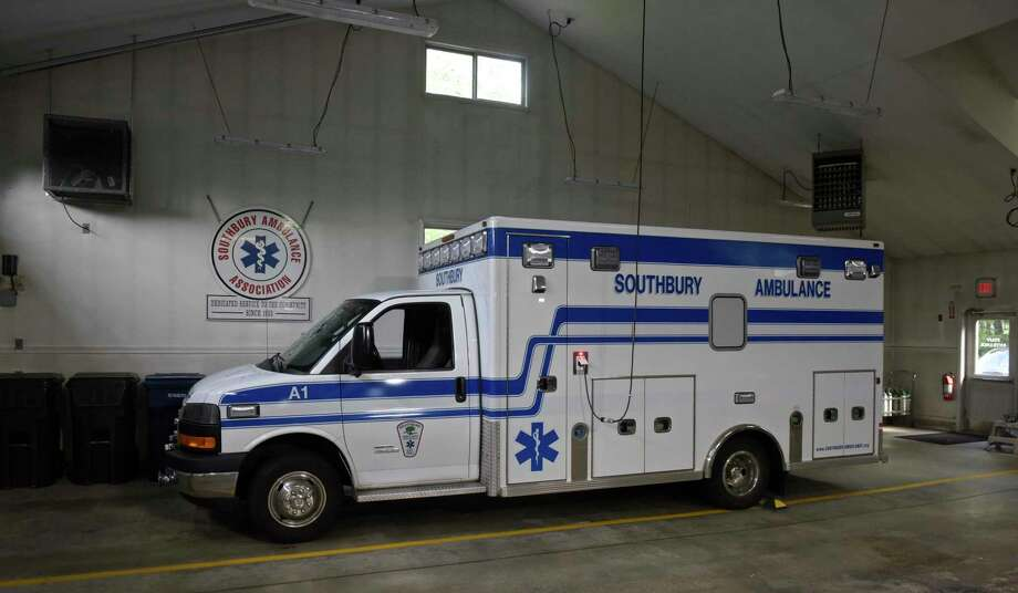 An ambulance in a bay of the Southbury Ambulance Association head quarters, Thursday afternoon, September 27, 2018, in Southbury, Conn. Photo: H John Voorhees III / Hearst Connecticut Media / The News-Times