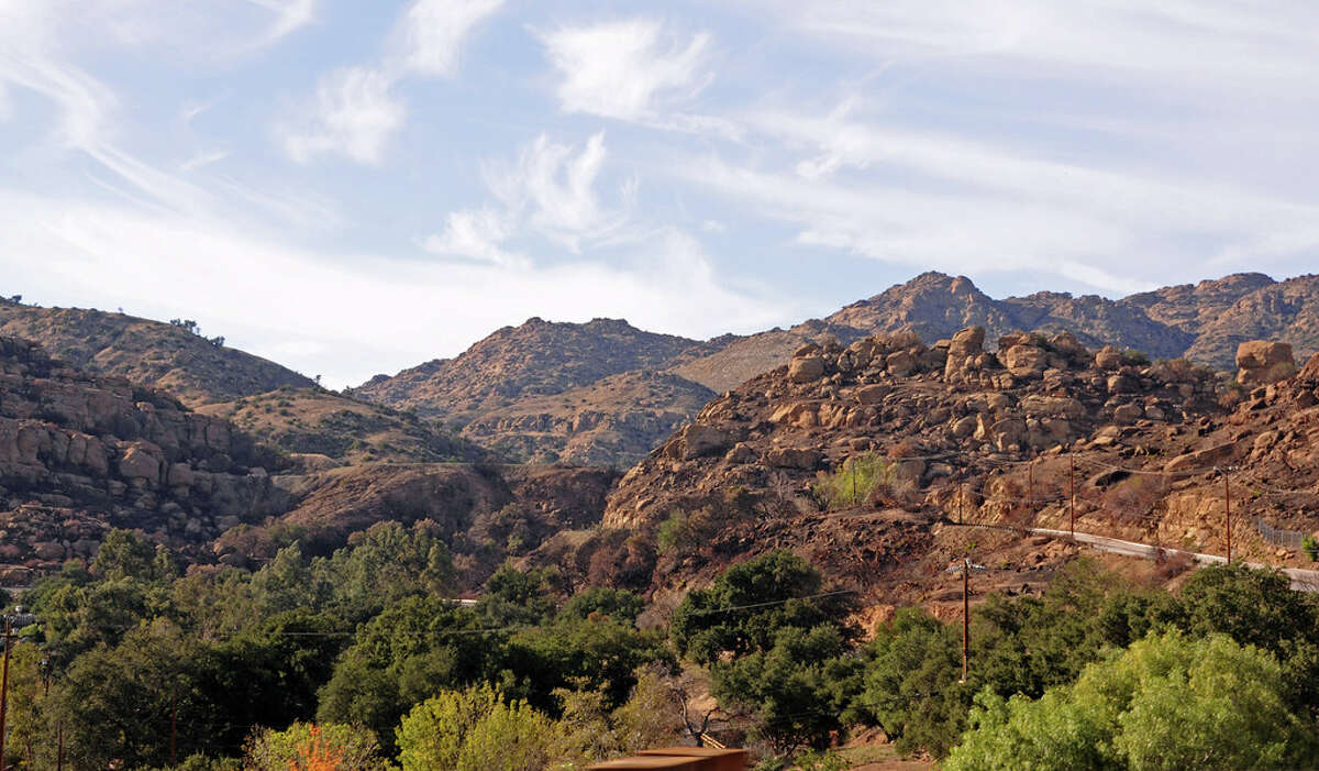 Topanga Canyon State Scenic Highway Notable sight: Massive rocks  Set in Southern California, Topanga Canyon State Scenic Highway is located on State Route 27 and became an official scenic route in 2017. If you're passing through, you'll be rewarded with views of massive rock formations, wildlife and valleys. It also runs through a portion of Topanga State Park which offers a view of the Pacific Ocean.