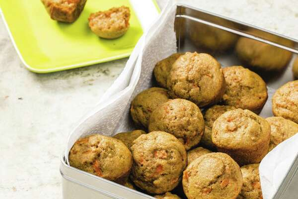 """Tiny Carrot Muffins, from America's Test Kitchen's """"Complete Baby and Toddler Cookbook,"""" are great for the school lunch box."""