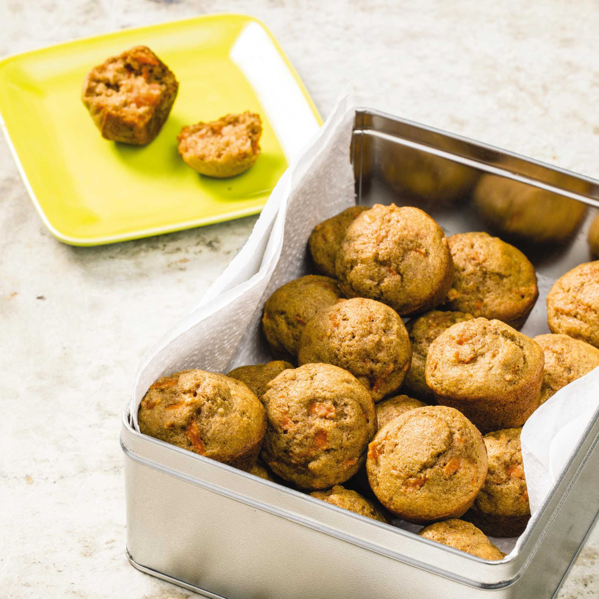 Recipe: Tiny Carrot Muffins