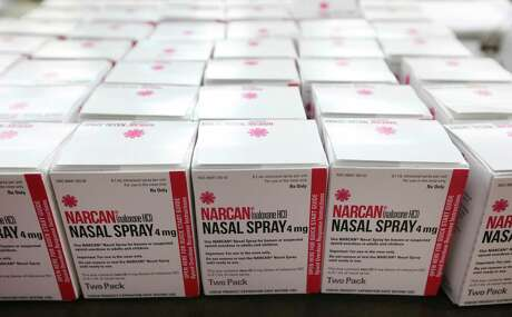 Any inmate of the Bexar County jail can request a free box of naloxone nasal spray, the drug that reverses the effects of an opioid overdose.